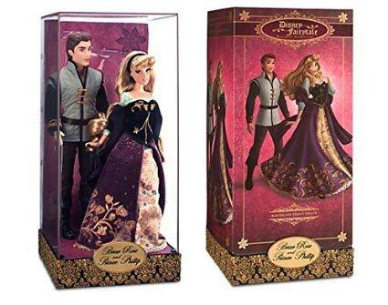 Boneca Aurora e Principe Phillip - Edição limitada Farytale Designer Collection