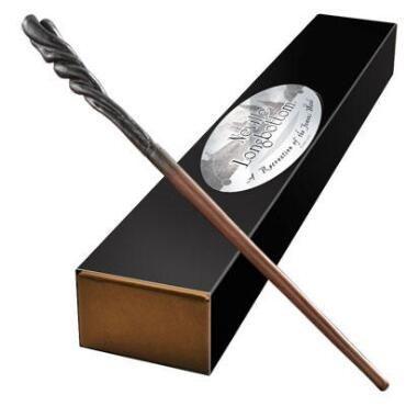 Varinha Neville Longbottom por Noble Collection caixa simples
