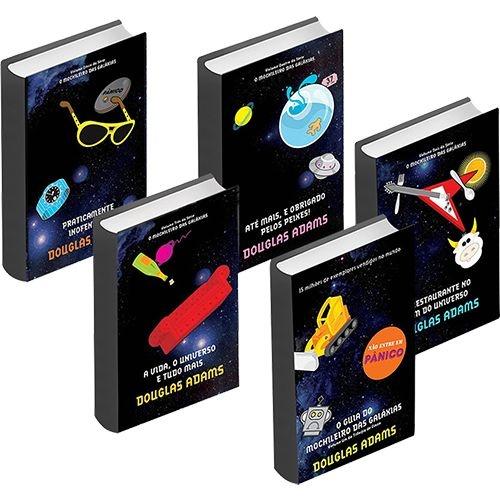 Kit com 5 Livros - Série O Mochileiro das Galáxias
