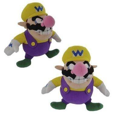 Pelúcia Super Mario Bros Wario de 30cm Oficial Nintendo