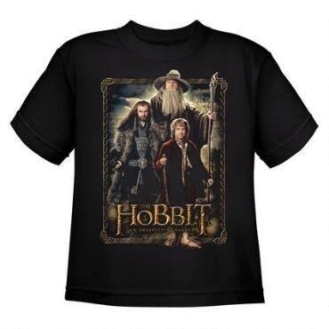 Exclusiva Camiseta Unissex - Bilbo, Gandalf e Thorin  - Original O Hobbit