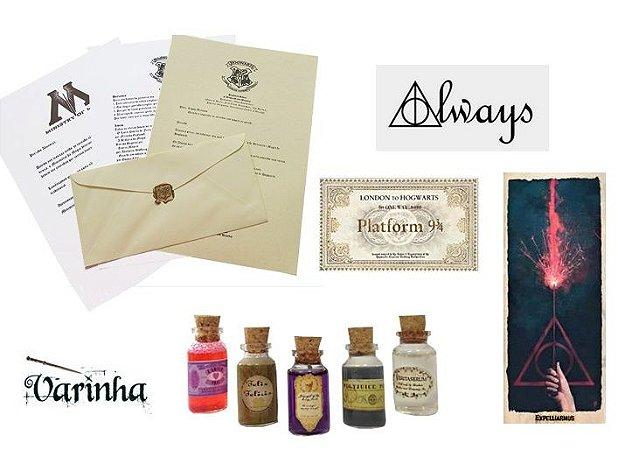 Kit Fã Harry Potter