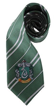 Gravata Harry Potter Slytherin - Sonserina (Por Elope)