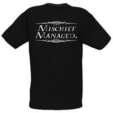 Exclusiva Camiseta Original Harry Potter Mischief Managed