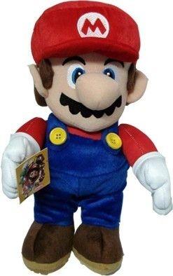 Pelúcia Mario de 30cm do Super Mario Bros