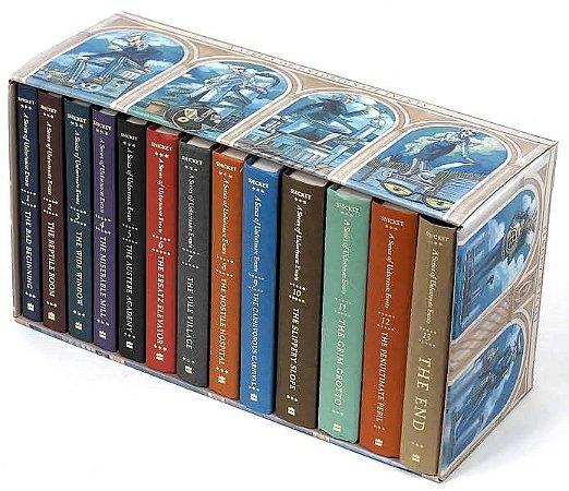 Box Set - The Complete Wreck: A Series of Unfortunate Events (13 Books)  (Desventuras em Série em Inglês)