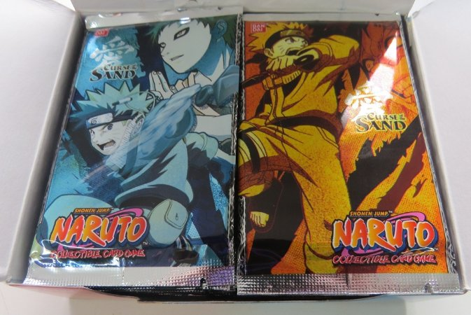Cards Naruto Lineage of the Legends (Pacote com 10 cards)