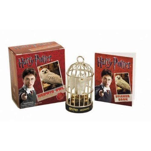 Miniatura Coruja Edwiges Harry Potter Sticker Book