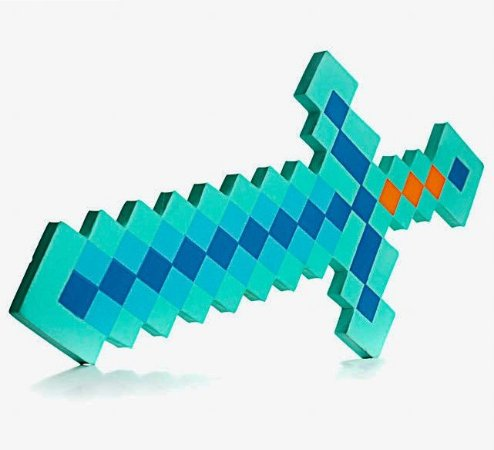 Minecraft Espada de Diamante