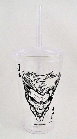 Copo com Canudo The Joker