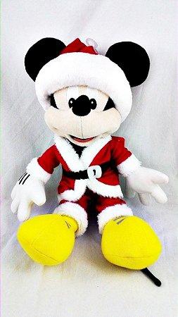 Mickey Mouse Especial de Natal Pelúcia 30cm