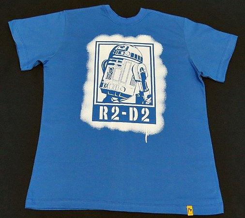 Camiseta Unissex Star Wars R2D2
