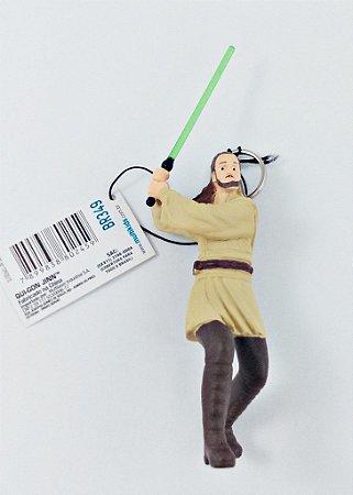 Chaveiro Star Wars Qui-Gon Jinn 8cm