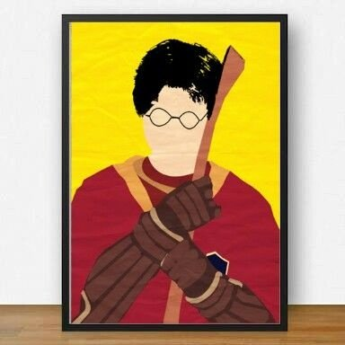 Quadro Harry Potter