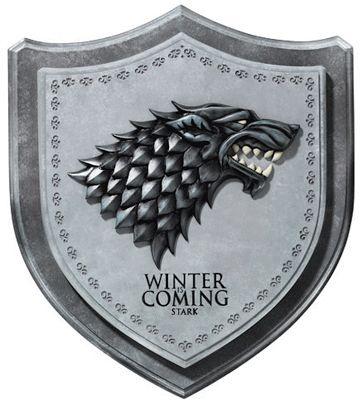 Brasão para parede Game of Thrones - Stark
