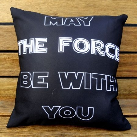 Almofada Star Wars - May the force be with you