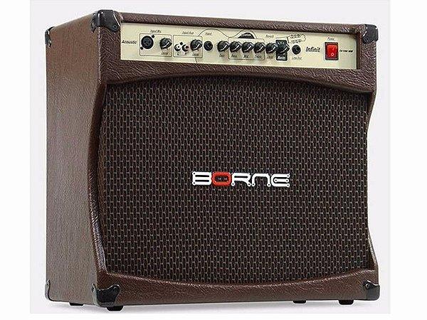 Amplificador Cubo Violão Acústico - Borne Infinit Cv12100 - 100w