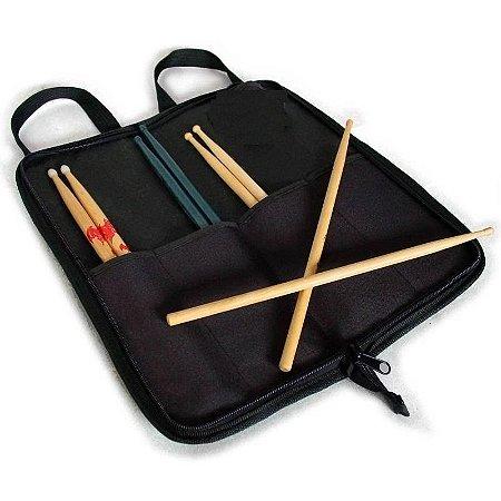 Bag Bolsa Para Baquetas Portatil Luxo King Musical