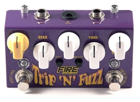 Pedal Fire Trip 'n' Fuzz Para Guitarra 3 Anos De Garantia