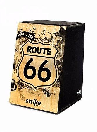 Cajon Acustico Fsa Strike Series Route 66 Sk4010 Percussão