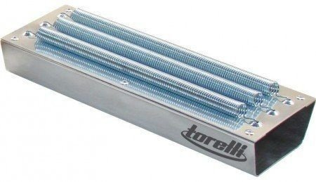 Reco Reco Profissional 3 Molas Aluminio Natural Torelli Tr503