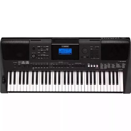 Teclado Yamaha Digital Psr-e453 6w Com 61 Teclas Sensitivas