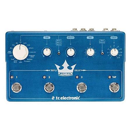 PEDAL FLASHBACK TRIPLE DELAY - TC ELECTRONIC