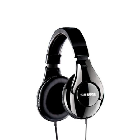 Fone de ouvido circumaural profissional com fio - SRH240A-BK - Shure