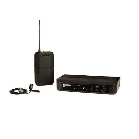 Sistema de Microfone sem fio com lapela e bodypack - BLX14BR/CVL-M15 - Shure