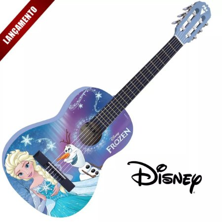 Violão Phoenix Disney Infantil Frozen Elsa E Olaf VIF-1