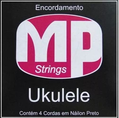 Encordoamento MP Strings Para Ukulele Com 4 Cordas