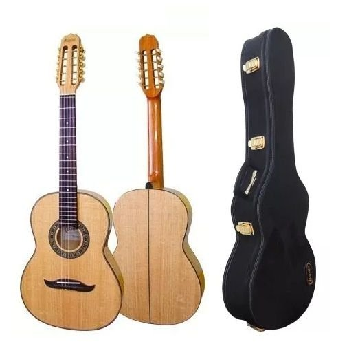 Kit Viola Rv191atn Rozini Estilo Ativo Natural + Case Rae06