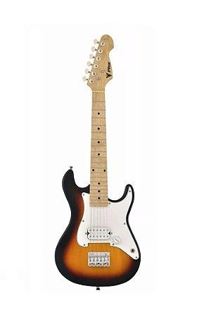Guitarra Infantil Stratocaster Junior Phoenix Sunburst