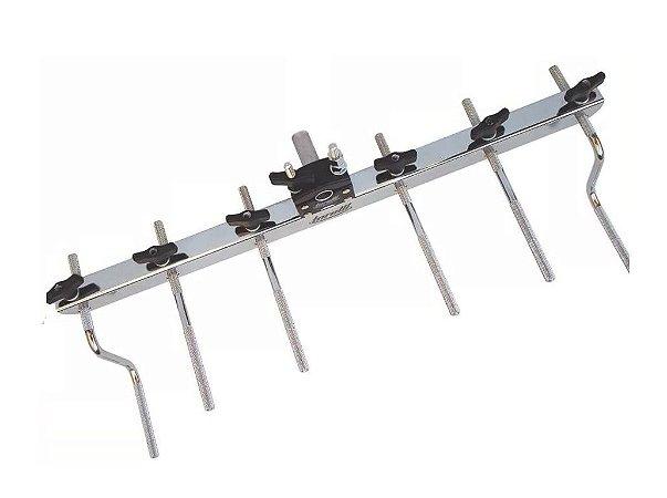 Rack Para Percussão Com 6 Hastes Torelli Ta406