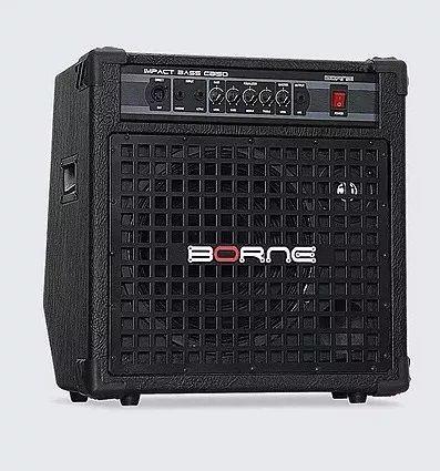 Amplificador Cubo Borne Impact Bass Cb150 Profissional 150w