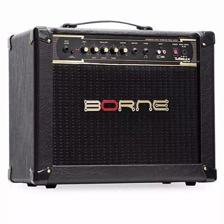 Amplificador Para Guitarra Borne Vorax 1050 50w Rms Preto