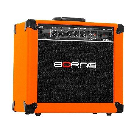 Amplificador Cubo Guitarra Borne Laranja Orange 20w G70