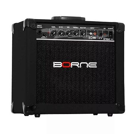 Amplificador Cubo Guitarra Borne Preto 20w G70