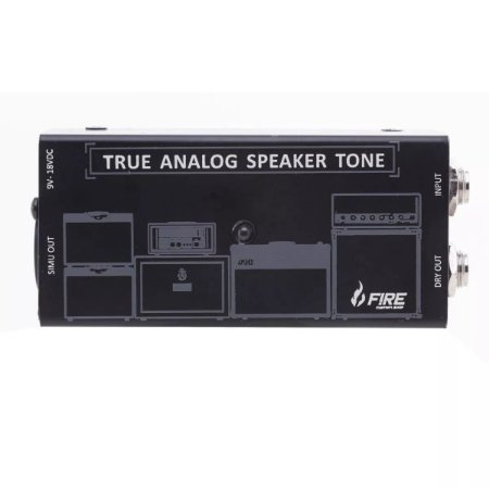 Pedal Fire True Analog Speaker Tone P/ Guitarra