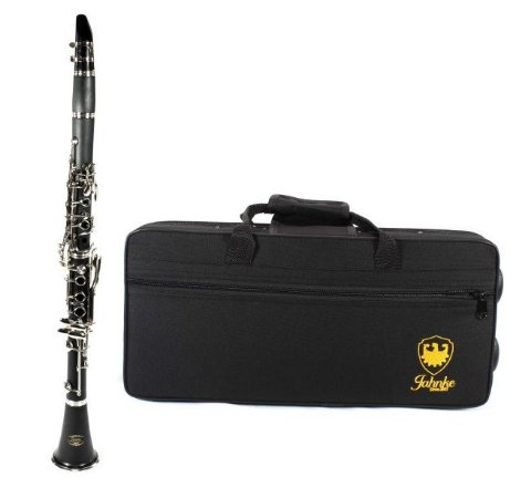 Clarinete 17 Chaves Jahnke Afinação B Si Bemol Jcc001-nq