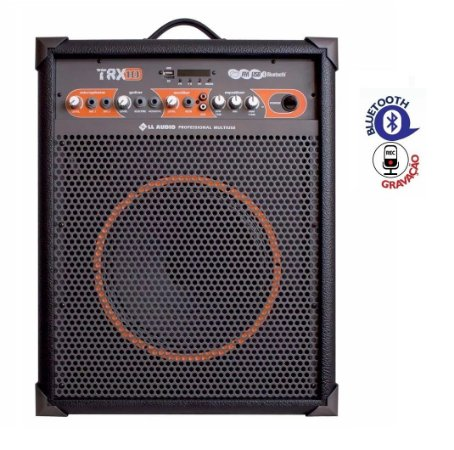 Caixa De Som Multiuso Amplificada Ll Trx10 Usb Radio Fm
