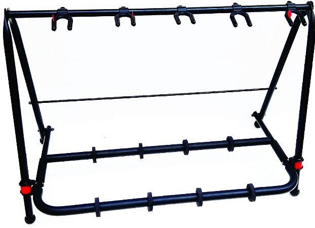 Suporte de Chão Rack com 5 Suportes Para Violão TRV05