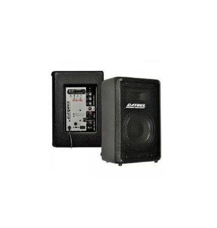Caixa Amplificada Ativa Datrel AT8100 100W Bluetooh FM