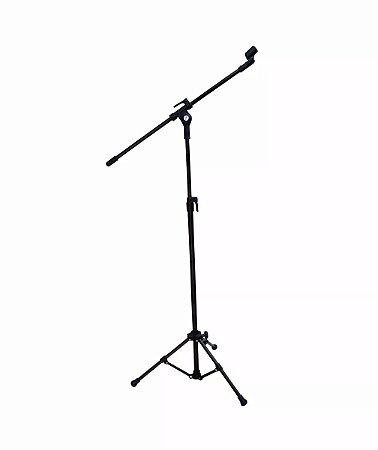 Pedestal Suporte Para Microfone Profissional C/ Cachimbo