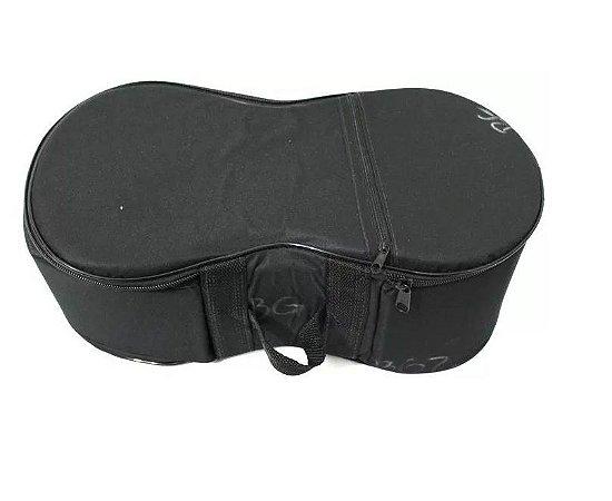 Capa Para Bongô Extra Luxo Almofadada Alça Lateral Ziper