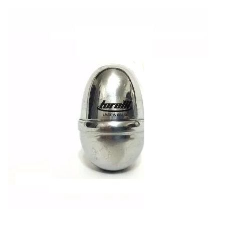 Ganza Ovinho Torelli Percussão Alumínio Polido TG556