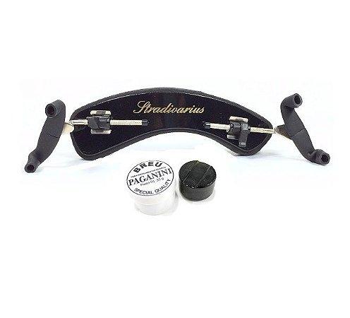 Espaleira Stradivarius Torelli 4/4 3/4 Regulagem + Breu