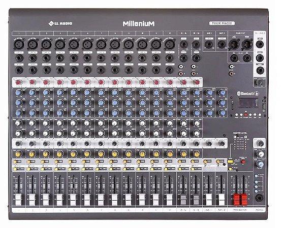 Mesa de Som 16 Canais MX1602MD Mixer Phantom Power LL Audio
