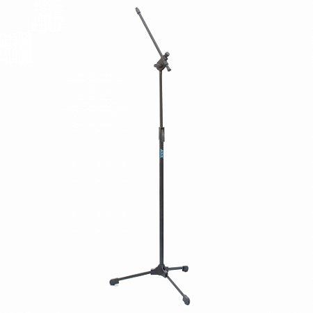 Pedestal Tripé Suporte Para Microfone Profissional ASK Preto