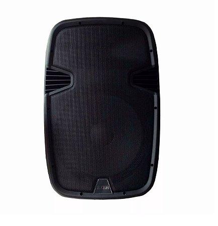 """Caixa de Som Ativa 200W CSR 5512 Usb SD Falante 12"""""""